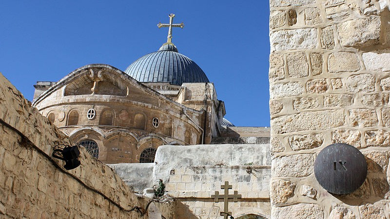 800px-Church_of_the_Holy_Sepulchre_-_Dome_exterior